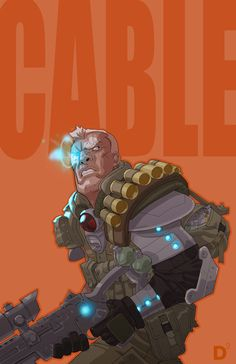 Cable by ~dan-duncan on deviantART