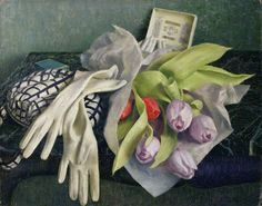 dod procter  | The Hall Table by Dod Procter | Art - WOMEN ARTISTS