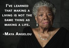 Wise words from a wise woman.