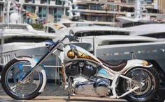 Retirement! Wife bike and boat.  Change this bike to a custom bagger with two seats!!