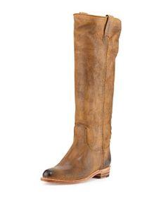 X2FRB Frye Dorado Low Leather Boot, Tan