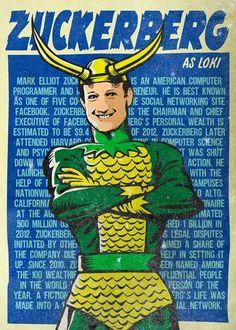Zuckerberg como Loki.