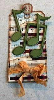 Music Notes Tag