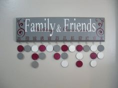 family birthday calendar, family birthdays, birthday calendar wood, wood birthday calendar, famili birthday, friend birthday