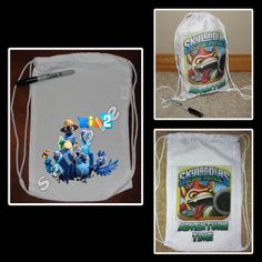 favor bags, party favors, drawstr sport, mini drawstr, birthday invit, jurassic park, despicable me 2, parti, sport pack