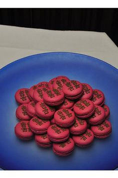 Double happiness macaroons