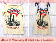 T-shirt to sundress