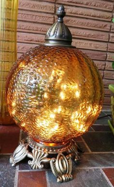 Light fixture magic in the garden Cindy Sullivan's 60s lamp gets a new life