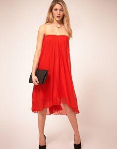 Vero Moda Drape Dress