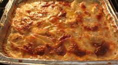 Curts Delectable Creations: Guinness Baked Cheesy Scalloped Potatoes Recipe