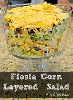 Fiesta Corn layered Salad