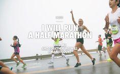I will run a half marathon in 2013!