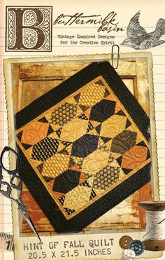 Fall quilt........