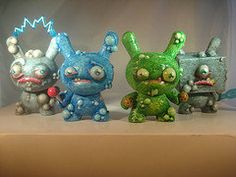 Little Monsters Dunnys by DFed on Etsy, $40.00