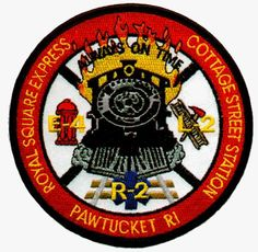 Pawtucket Fire Department (RI)   Station 4 Patch