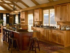 kitchen hickory cabinets Dreams Kitchens Kitchens