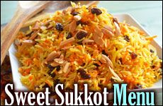 A Sweet Sukkot Menu , don't put your honey away yet ;)