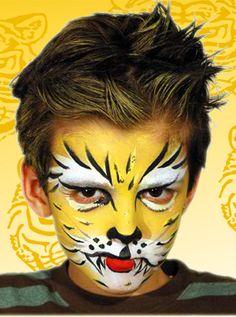 Hoe schmink je een tijger: filmpje