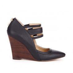 Gwenn ankle strap wedge