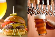 Great Burgers & Great Choice's of Beer (Like Russian River Pliny Elder on Tap)