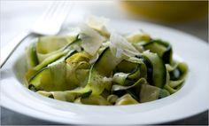 zucchini pasta. brilliant.