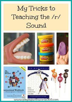 Tricks to Teaching the /r/ Sound (from a pediatric speech pathologist)