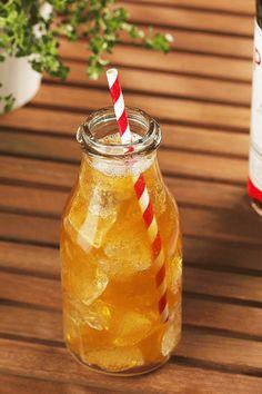 Twisted Pimms - Use Ginger Beer or Ginger Ale Instead of Lemonade