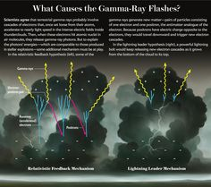 Scientific American Information Graphic: Gamma-Ray Flashes [Illustration by Brian Despain]