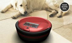 Oh my goodness I love this s much!!!   Groupon - bObsweep Standard or Pet-Hair Robotic Vacuum and Mop. Multiple Colors in Online Deal. Groupon deal price: $199.99