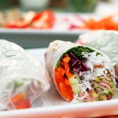 Taste the Rainbow: Veggie-Filled Spring Rolls