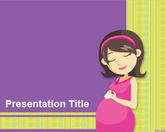 Natural Childbirth PowerPoint Template is a free PPT template for prenatal PowerPoint presentations but also useful for mothers who are attending childbirth classes