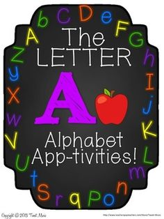 FREEBIE ABC! Come Rap With Me! The Letter A FREEBIE 2 songs and printables.