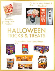Halloween Tricks and Treats: Homemade cookies, organic snacks, all natural treats, and pretzels for kids with Peanut allergies. Printables thanks to @Jenny @ jennycollier.com. #halloween #treats #printables #free #recipe