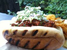 TWITLISH: THE ULTIMATE CHILI DOGS WITH CREAMY COLESLAW & TOLAN'S MOM'S POTATO SALAD
