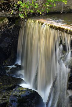 Stream near Önne, Sweden by Ole G., via Flickr