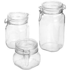 ferment jar, fido 3piec, 3piec set, kitchen dining, rocco fido, bormioli rocco, home kitchens, fido jar, jars