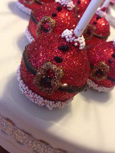 Santa belly cakes pops!!!