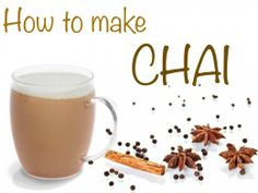 How to make chai. Includes health benefits, history and video.
