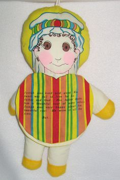 Bible story doll