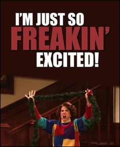 SNL Kristen Wiig. Exactly how I'm feeling about our first Christmas as a family!