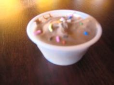Cake Batter Pudding Shot