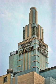 Ritz Plaza, Miami (now closed) #Art Deco