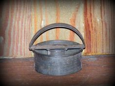 Antique Tin Donut  Handled Cookie Cutter by cottageprims on Etsy, $7.99