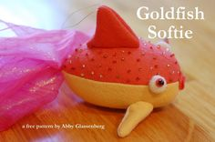 Goldfish Pattern  Welcome to Craftsy! Learn it. Make it. - via @Craftsy