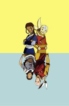 Katara and Aang <3