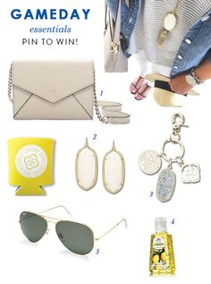 Head back to school in style with our Game day Essentials Giveaway! Pin this image for a chance to win a KS swag bag and a pair of Elle Earrings in the color of your choice!