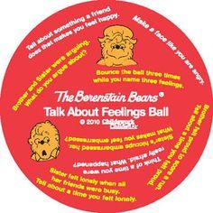 Berenstain Bears Talk About Feelings Ball $22.95