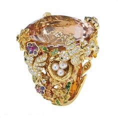 Dior Joaillerie Oiseau (Bird) Ring from the Incroyables et Merveilleuses collection