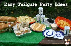 Easy Tailgate Party Ideas