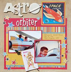 galleries, scrapbook layouts, scrapbook disney, astro orbit, disney layout, magic kingdom, galleri origin, disney scrapbook, scrapbook galleri